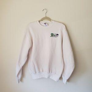 Olive Garden Vintage White Crewneck Sweater M